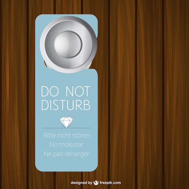 Design A Door Sign bathroom door sign design a user view study Hotel Door Sign Free Vector
