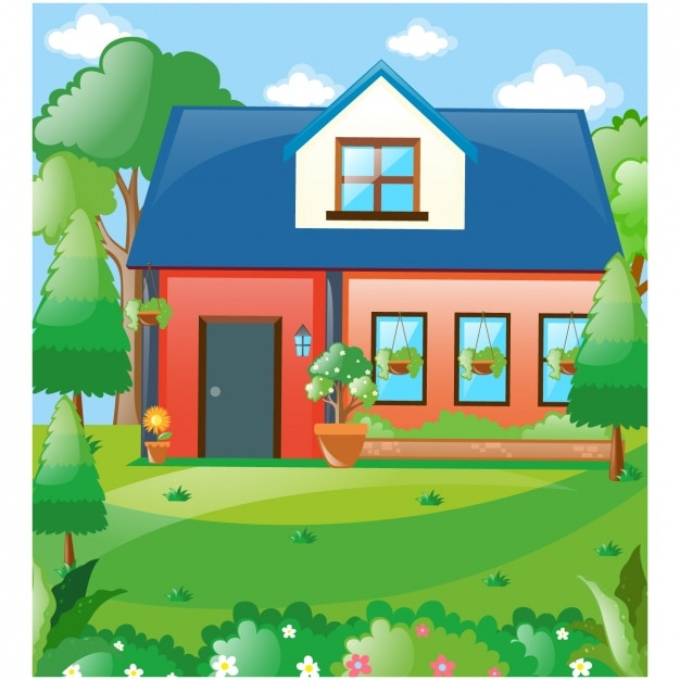 House background design vector free download for House images free download