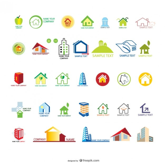 House Housing Graphics Vector Material Free Vector
