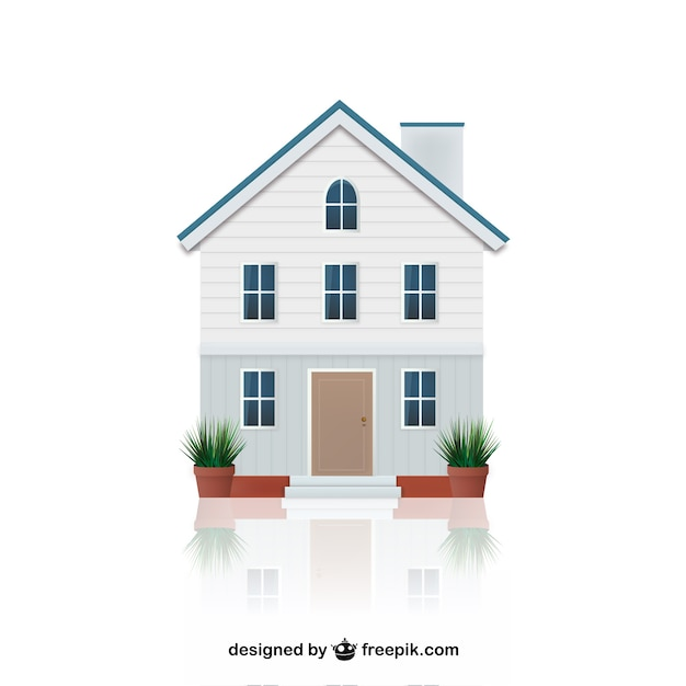 House illustration vector free download for House images free download