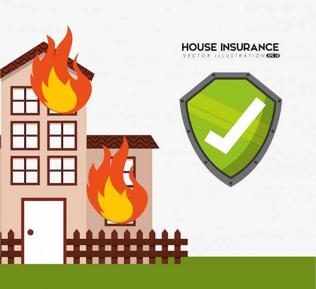 House insurance Free Vector