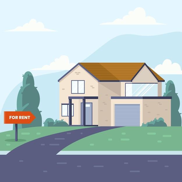 Casa in vendita / in affitto Vettore gratuito