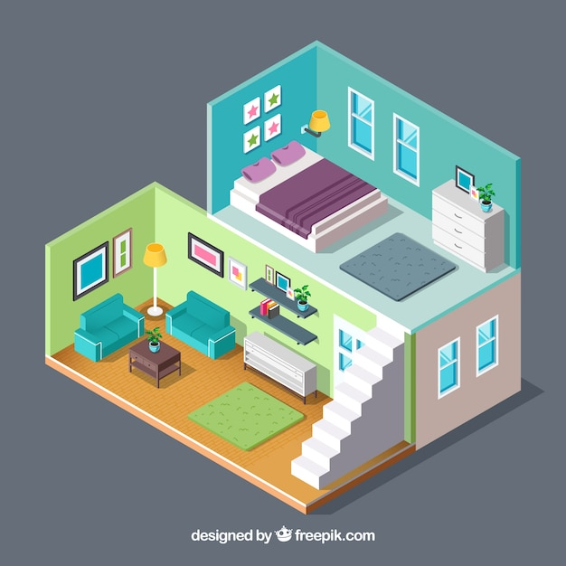 House Top View Vector Free Download