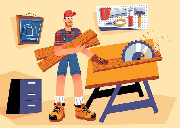 Professioni domestiche e ristrutturazioni Vettore gratuito