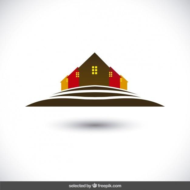 Houses silhouettes logo