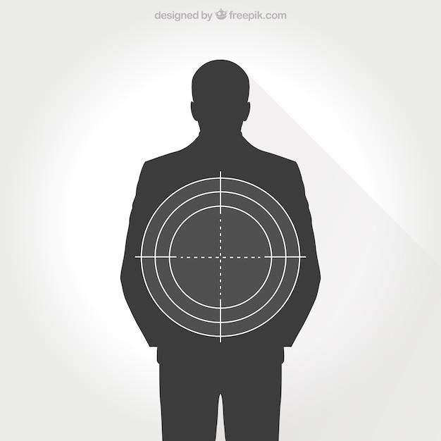 Human target Free Vector