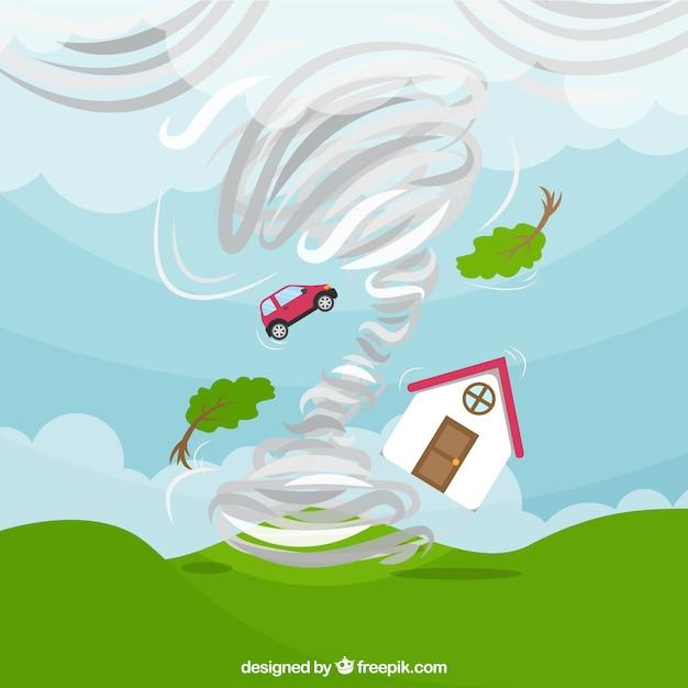 Ураганный дизайн Бесплатные векторы
