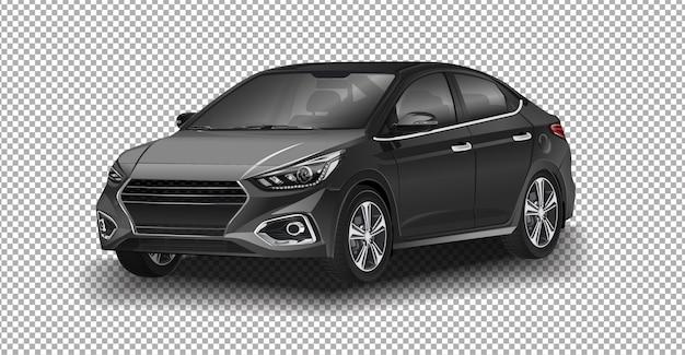 Hyundai solaris. одна из самых продаваемых моделей hyundai motor company Premium векторы