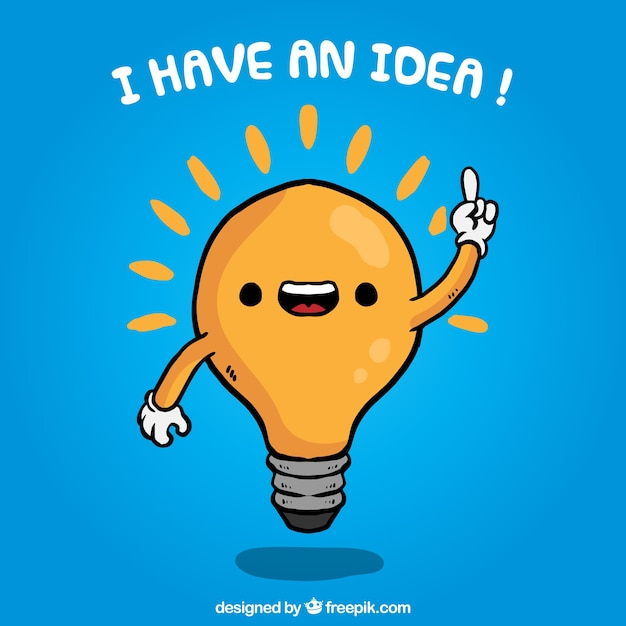 I have an idea! Vector | Free Download