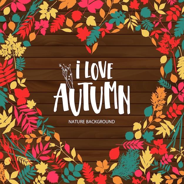 I love autumn illustration