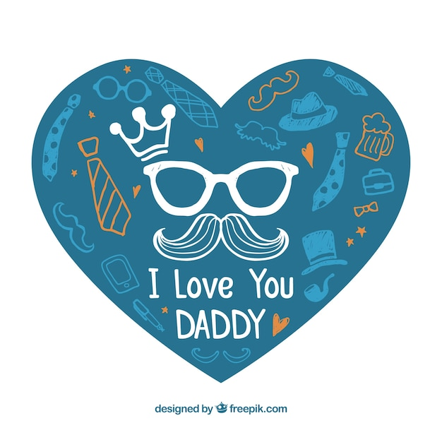 I love you daddy vector free download - I love you daddy download ...