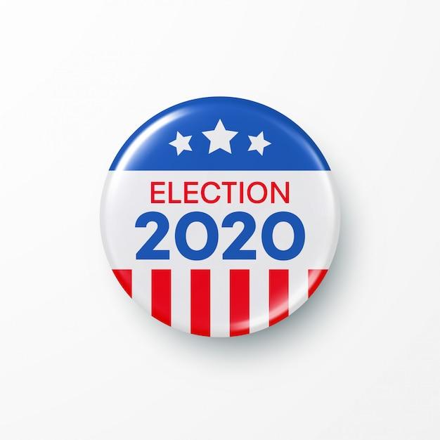 I vote united states of america presidential election. Premium Vector