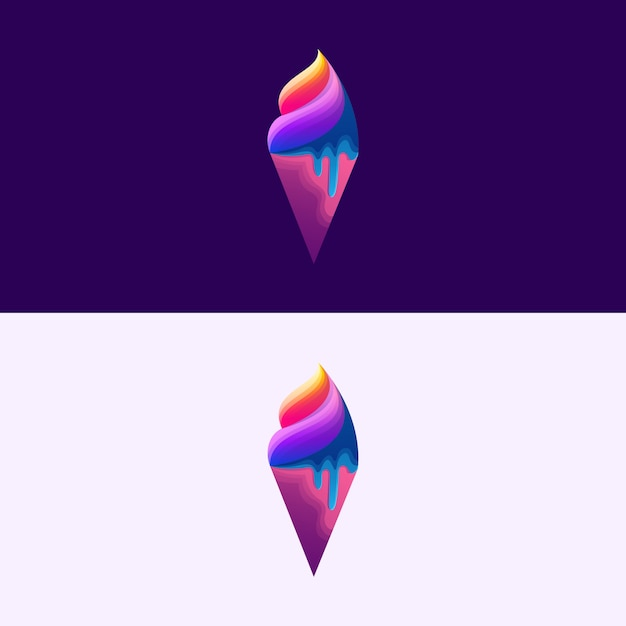Ice cream illustration Premium Vector