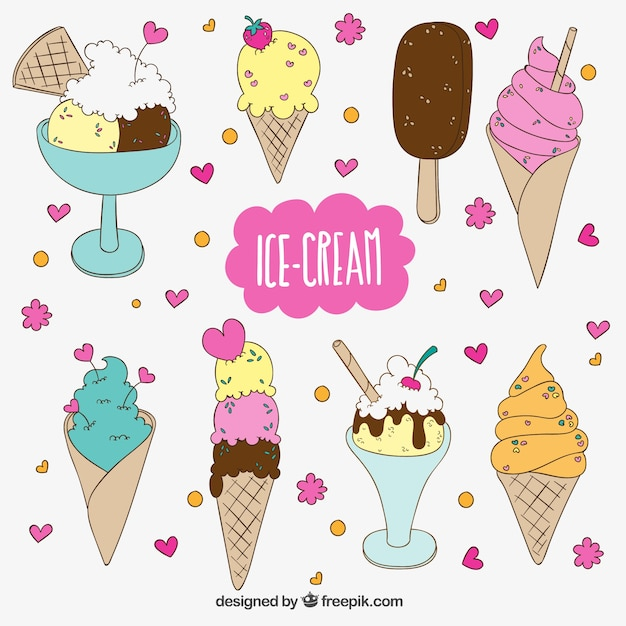 Ice Cream Free Vector Download 980 Free Vector For