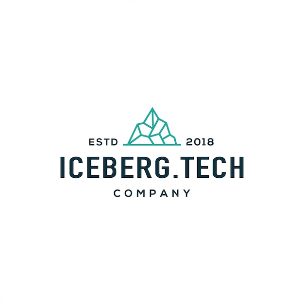info for 80813 1b7f4 Iceberg logo Vector | Premium Download