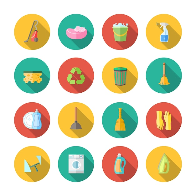 Icon about cleaning Free Vector