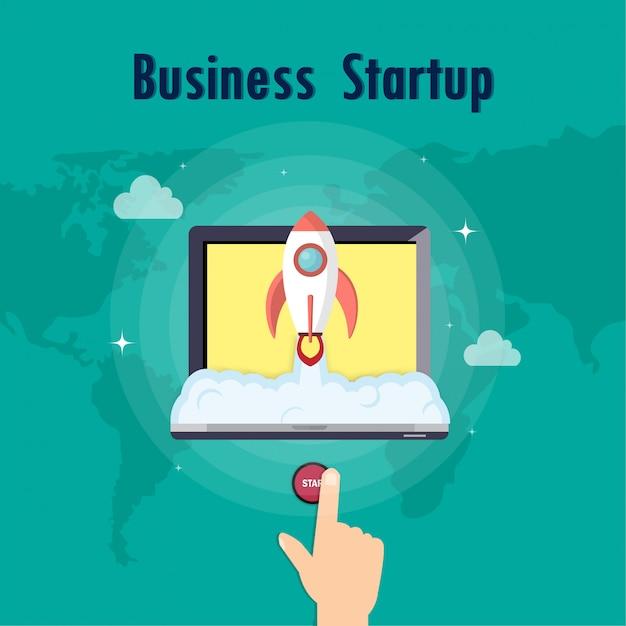 Icon business Premium Vector