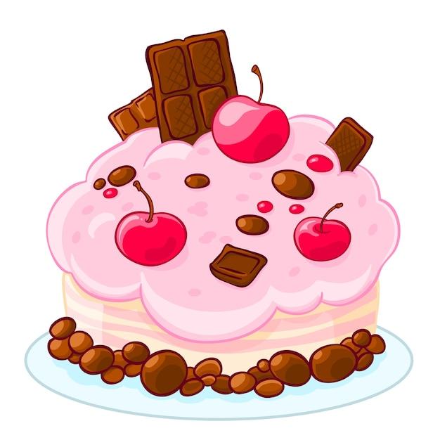 Un Fruit Cake Cartoon