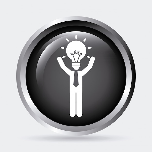 Idea design Free Vector