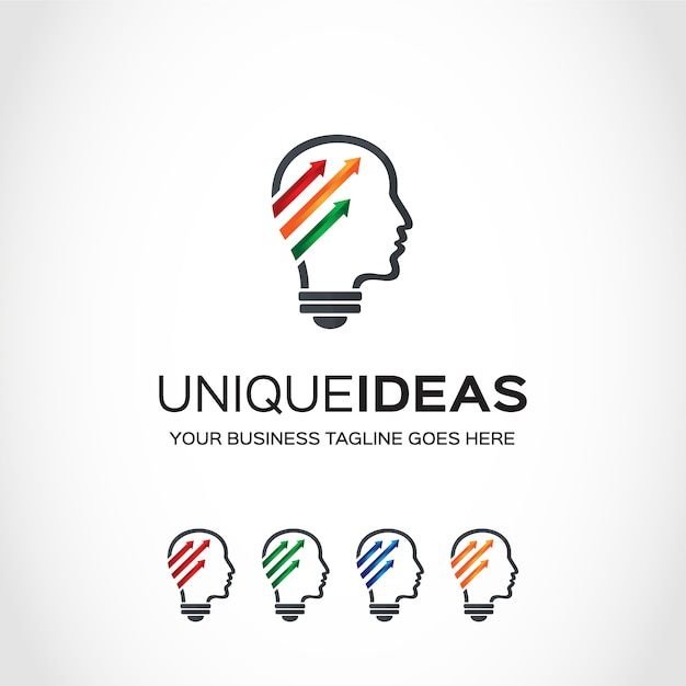 Idea Logo Design Free Vector