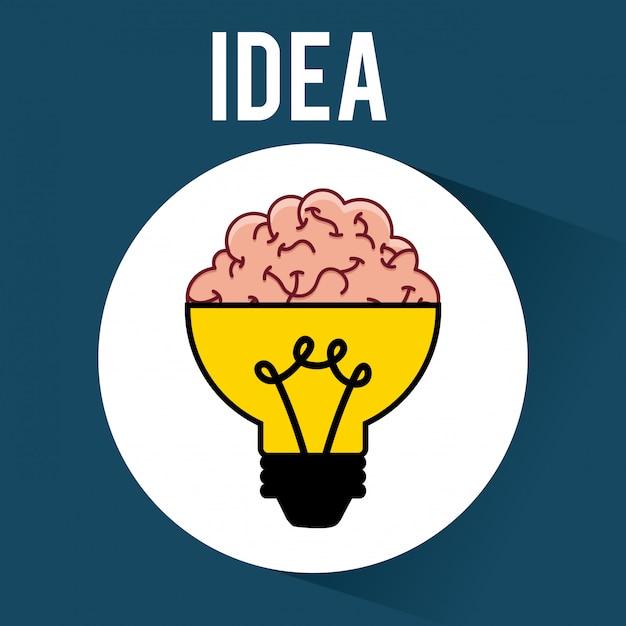 Idea Free Vector