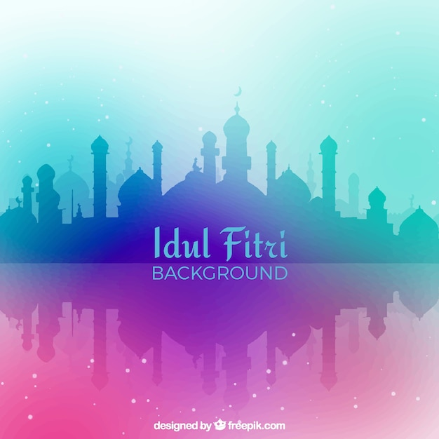 Download 71 Background Keren Idul Fitri HD Terbaru