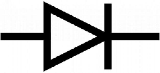 Iec diode symbol free vector
