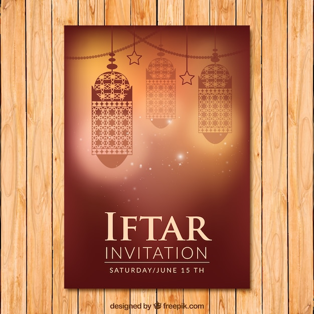 Iftar invitation with lanterns vector free download iftar invitation with lanterns free vector stopboris Gallery