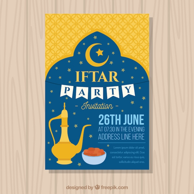 Iftar party invitation vector free download iftar party invitation free vector stopboris Gallery