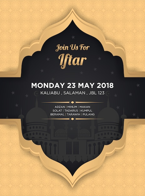 Iftar Banners Social Site Banners