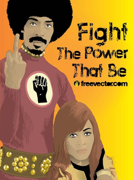 Ike and Tina Turner Free Vector