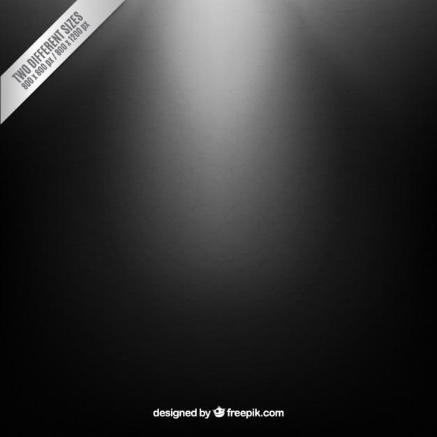 Illuminated black background