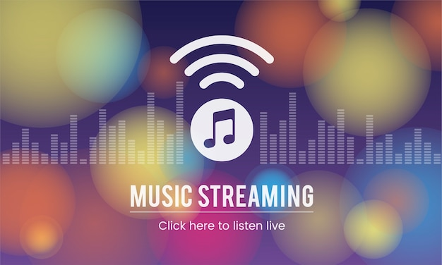 Illustation of music concpet Free Vector