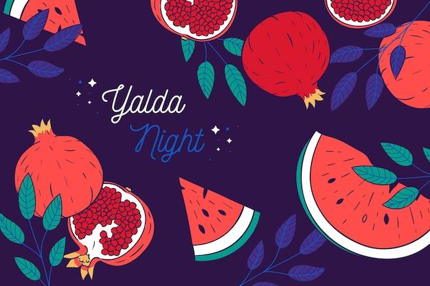 yalda night zoom background