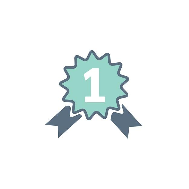 Illustration of achievement prize Free Vector