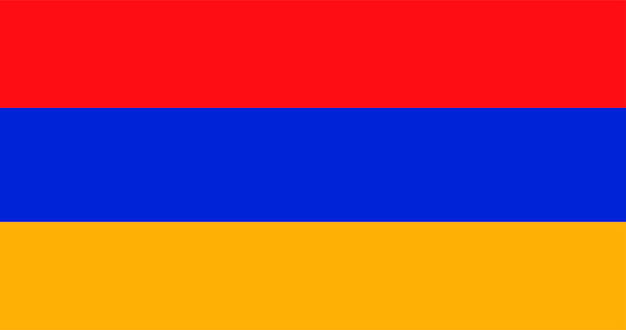 Illustration of armenia flag Free Vector