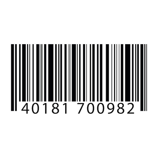 Illustration of barcode Free Vector