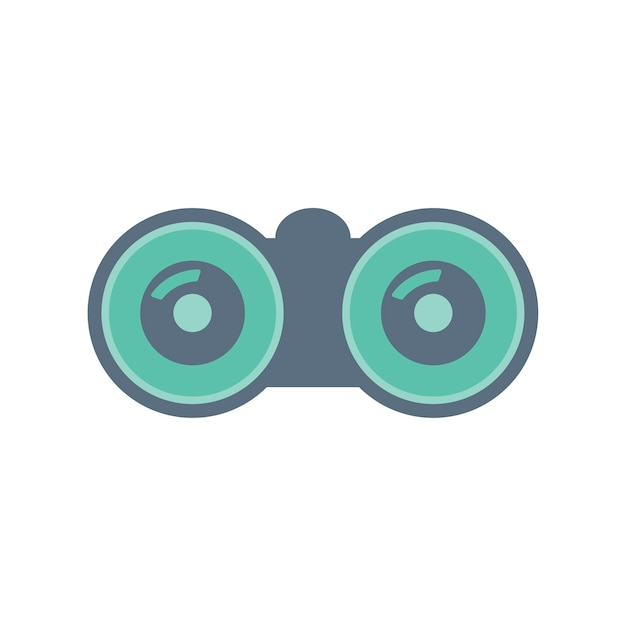 Illustration of binocular Free Vector