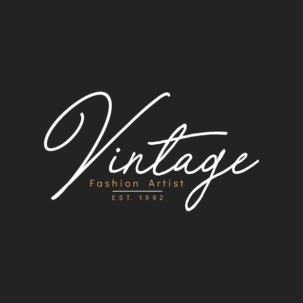 Illustration of boutique shop logo stamp banner Free Vector