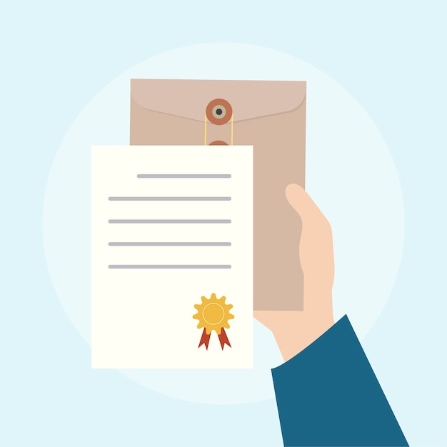 Illustration of business agreement concept Free Vector
