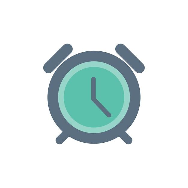 Illustration of clock Free Vector