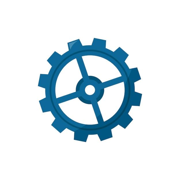 Illustration of a cogwheel Free Vector