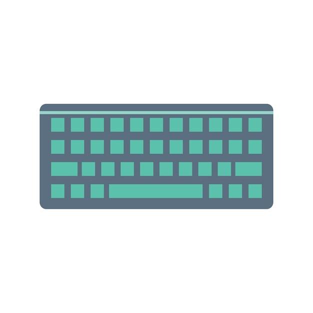Illustration of computer keyboard Free Vector