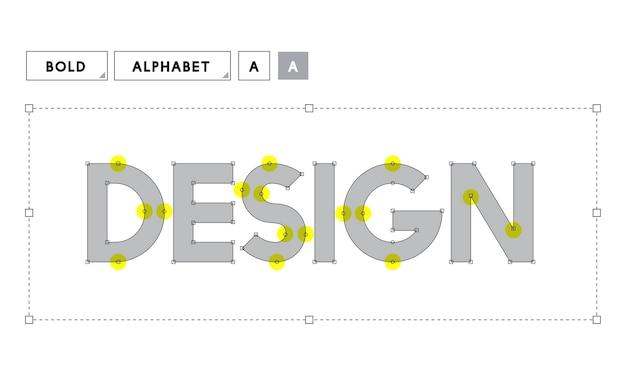 Illustration of creative graphic design Free Vector