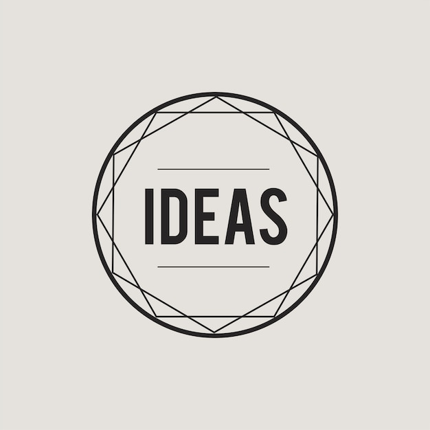 Illustration of creative ideas concept icon Free Vector