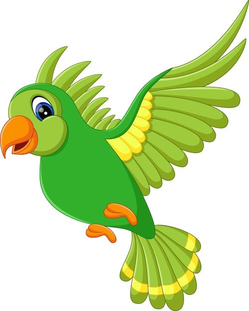 Illustration of cute birds flying   Premium Vector - photo#25