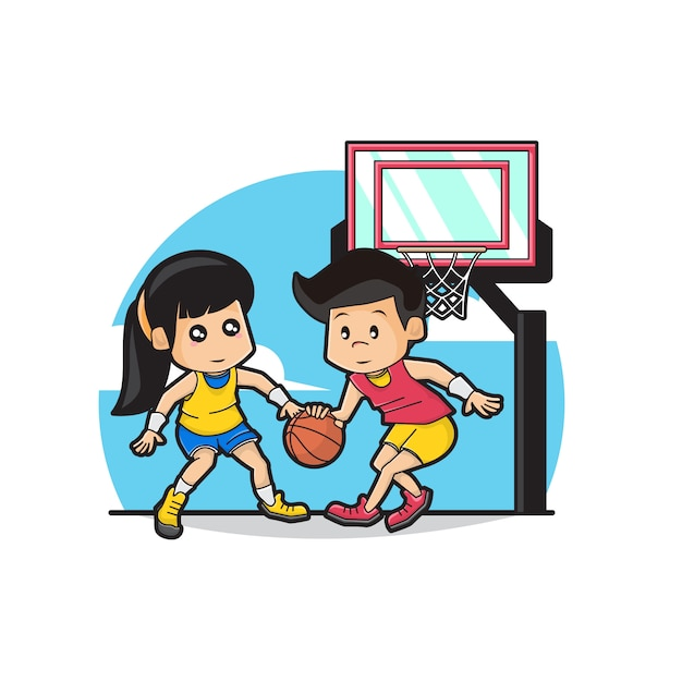 Girl Basketball Player Clipart - Girl Playing Basketball Clipart - Free  Transparent PNG Clipart Images Download