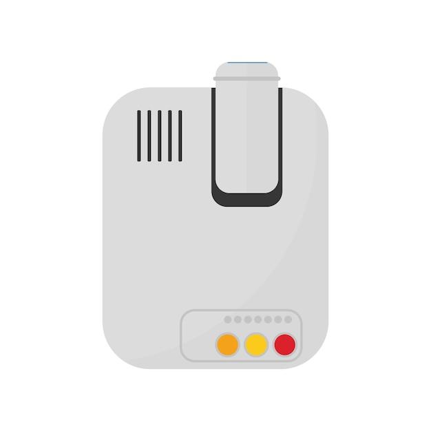 Illustrazione del dispositivo isolato Vettore gratuito