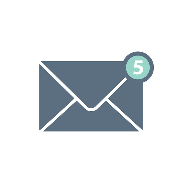 Illustration of envelope Free Vector