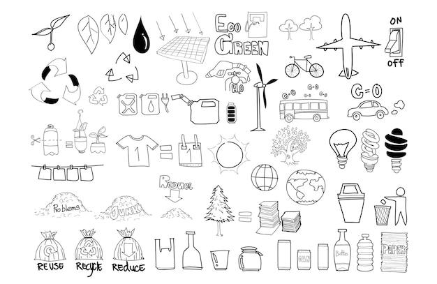 Illustration of environment Free Vector